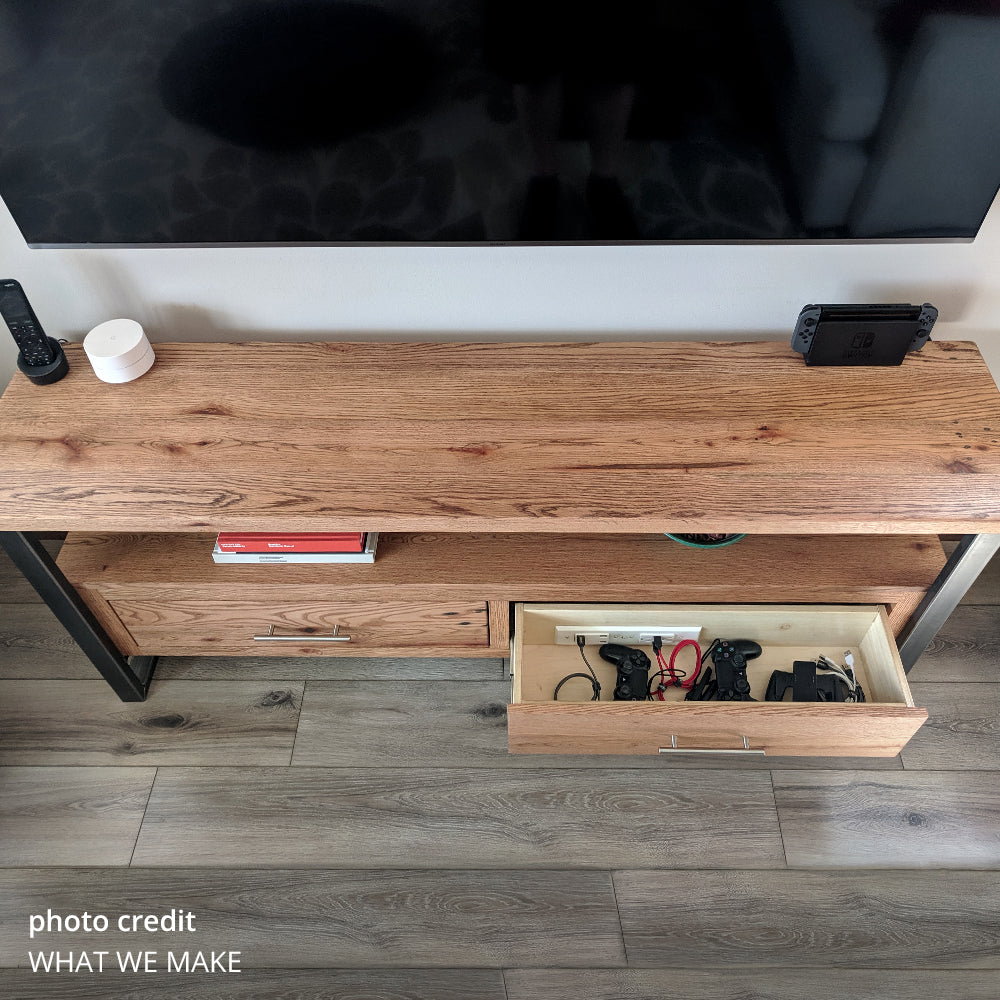 entertainment center drawer outlet