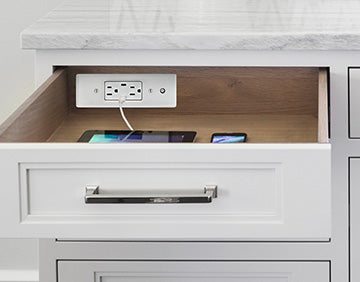 drawer phone charger