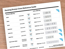 Docking Drawer Cross Reference Guide