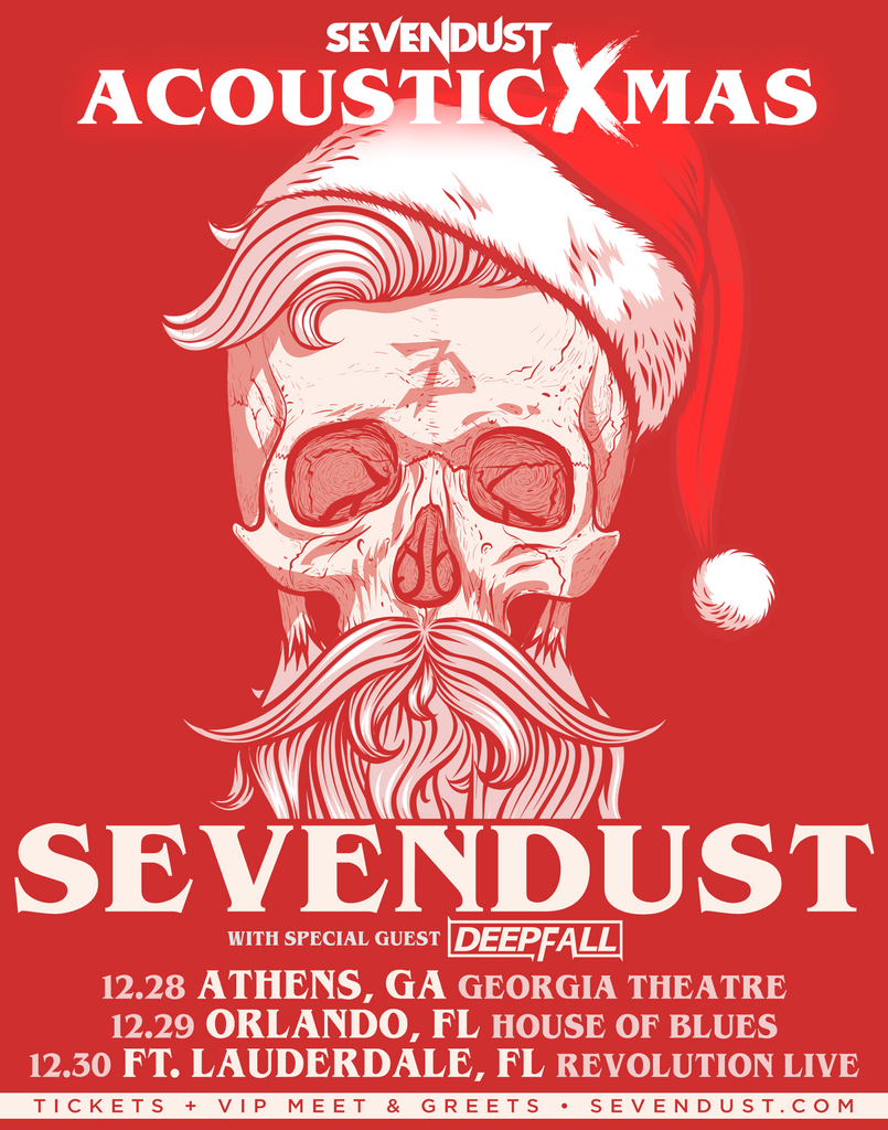 Sevendust Acoustic Xmas - 3 Shows Announced!
