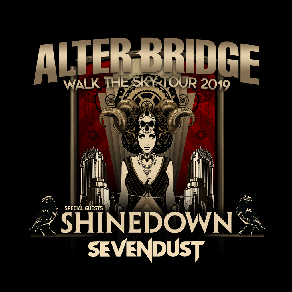 Announced: Sevendust with Alter Bridge and Shinedown - UK Tour
