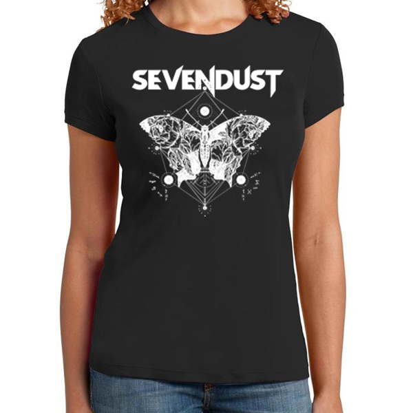"Sevendust ""Butterfly"" Ladies Tee"