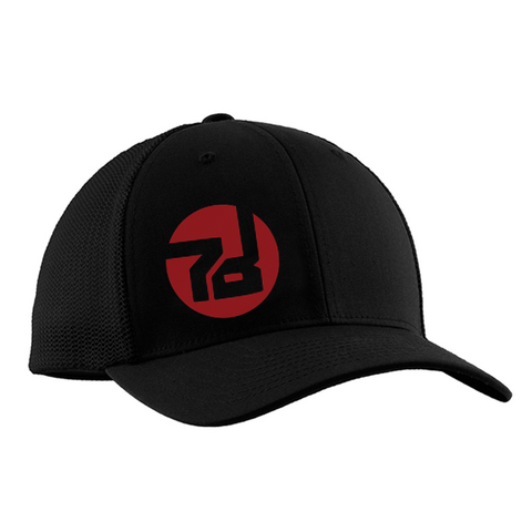 Sevendust 7D Hat (Red Throwback Logo)
