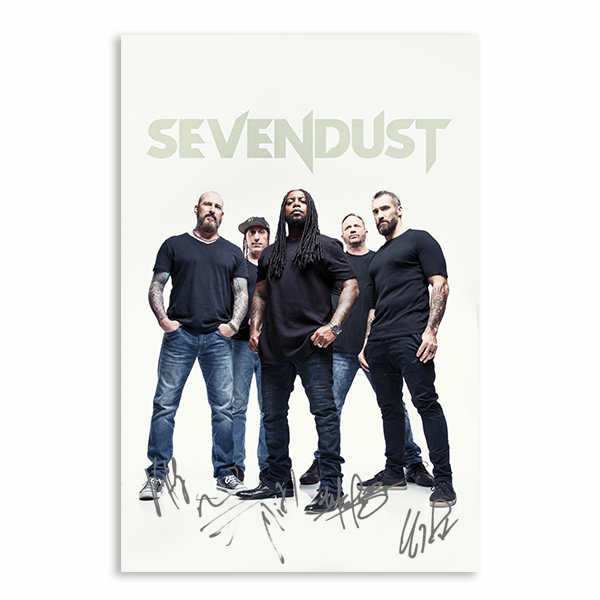 "Sevendust ""War Pose"" Signed Poster [LIMITED]"