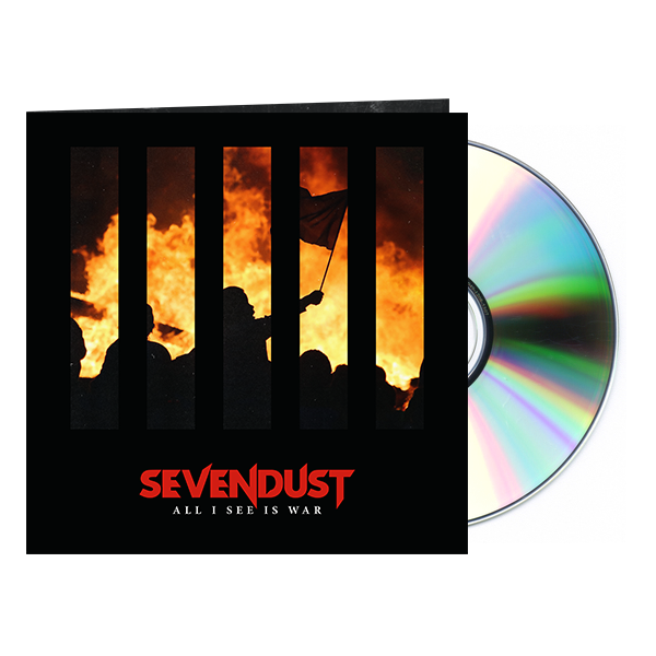 "Sevendust ""All I See Is War"" CD + Signed Cover Art [LIMITED]"