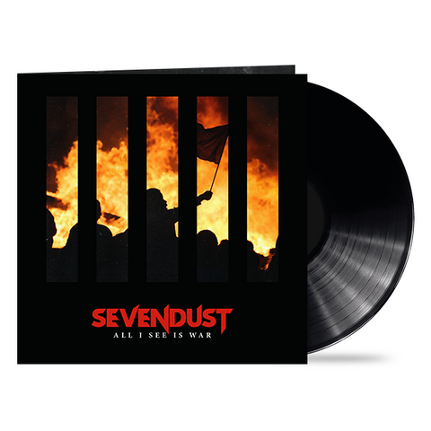 "Sevendust ""All I See Is War"" LP + Signed Cover Art [LIMITED]"