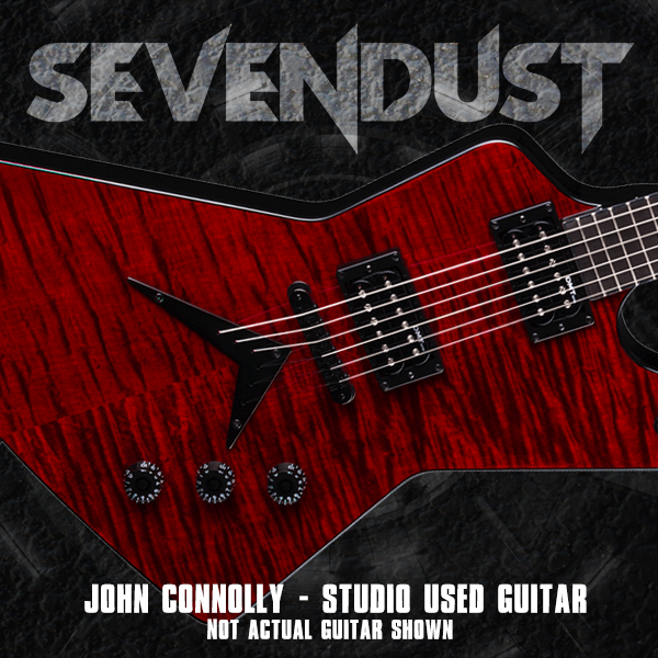 NEW Sevendust: Studio Used Signed Dean Guitar (John Connolly)