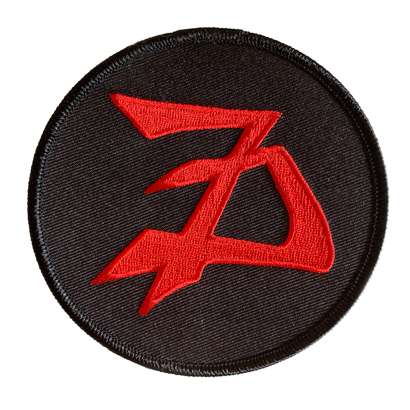Sevendust 7D Logo Patch (Circle)