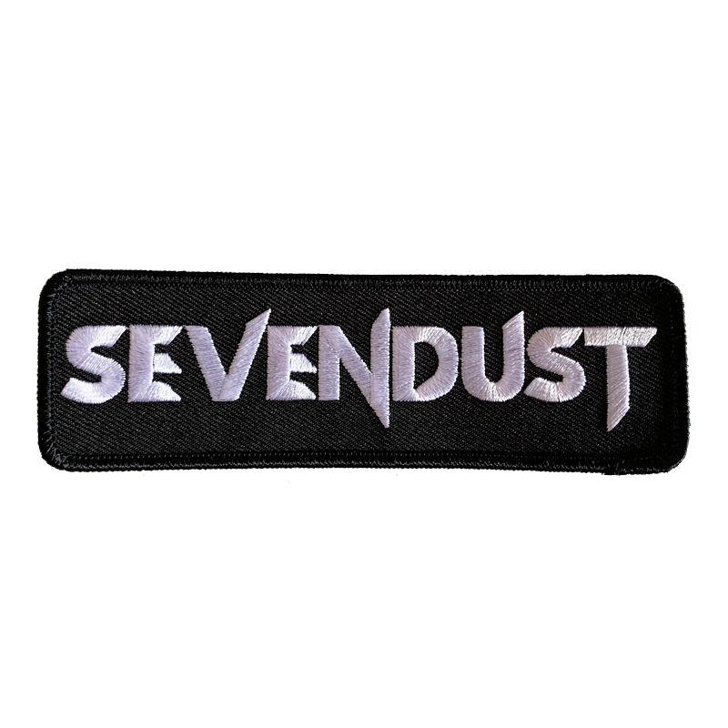 Sevendust Logo Patch (Rectangle)