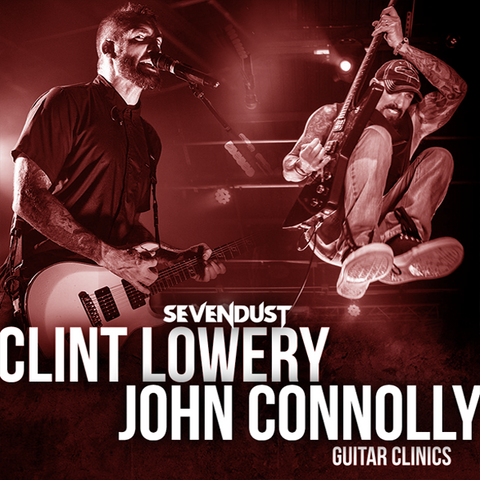 VIP Guitarist Experience with Clint Lowery & John Connolly [WINTER 2019]
