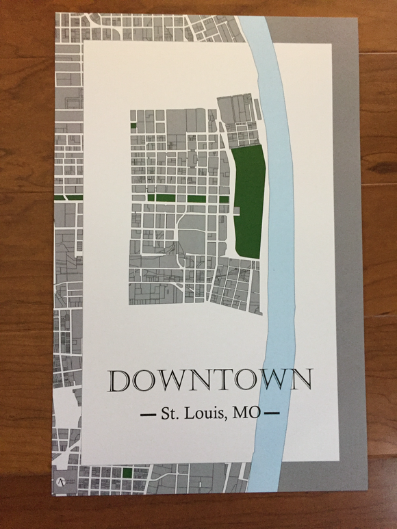 St. Louis Neighborhood Prints