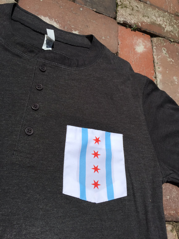Chicago Flag Henley