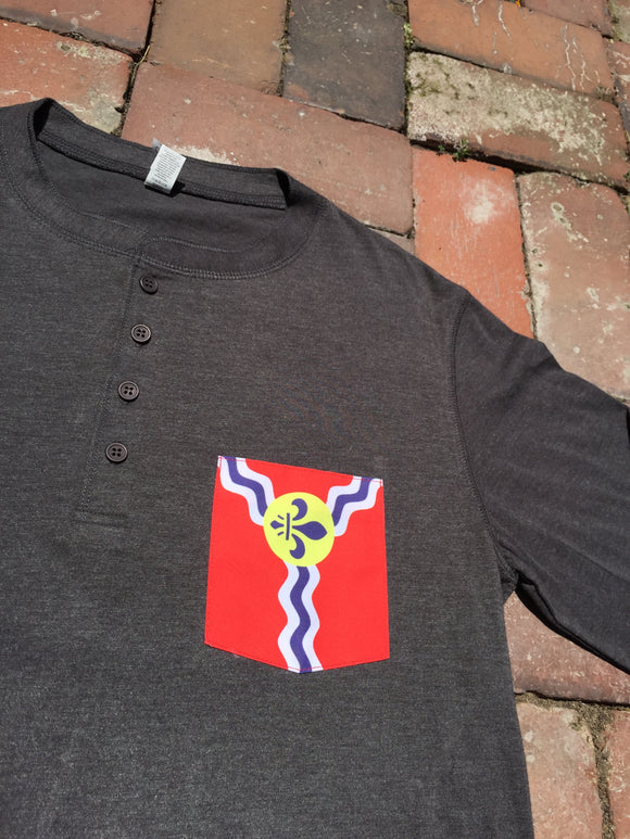St. Louis Flag Henley
