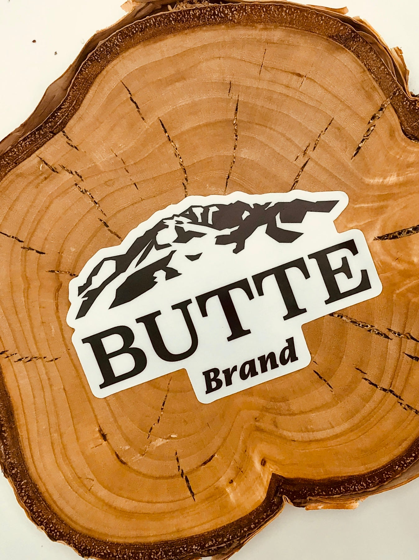"""OG"" Butte Brand Sticker"