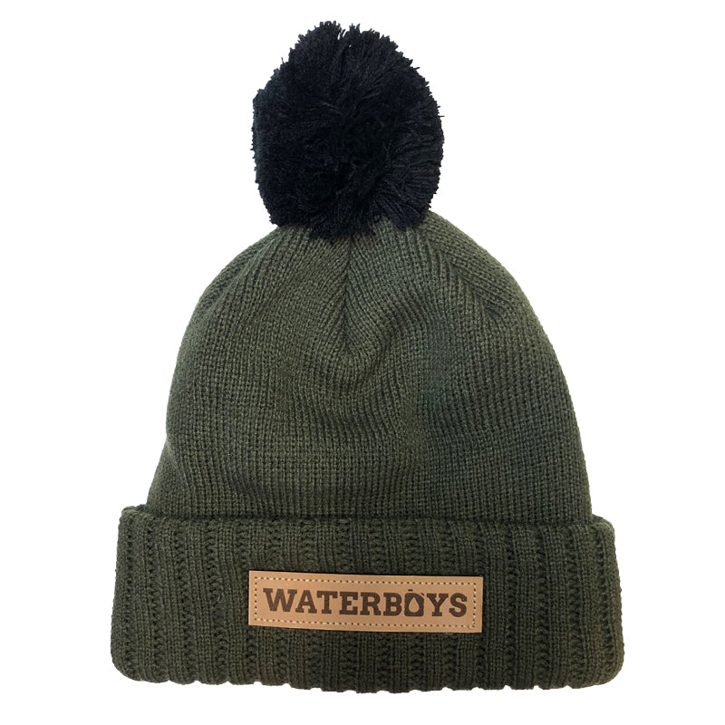 Waterboys Pom Beanie - Forest