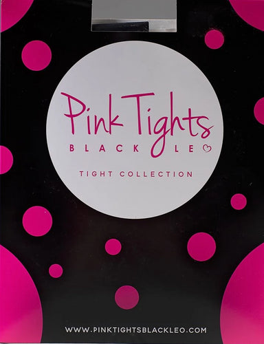 Pink Tights Black Leo Convertible Tights