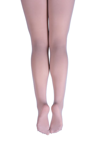 Pink Tights Black Leo Everyday Full Foot  Tights