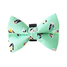 Minty Fresh Crystal Bow Tie
