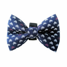 Hipster Chic Navy Bicycle Bow Tie
