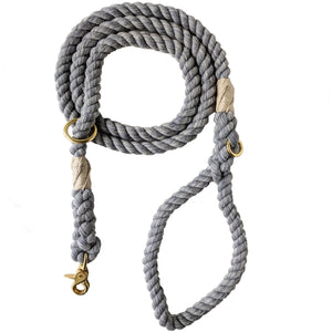 Cloudy Days Adjustable Rope Leash