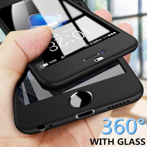360 Full iPhone Case/Cover w/ Screen Protector Elite Fitness Essentials
