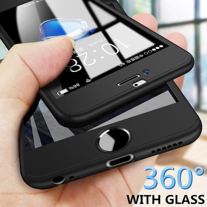 360 Full iPhone Case/Cover w/ Screen Protector - Elite Fitness Essentials
