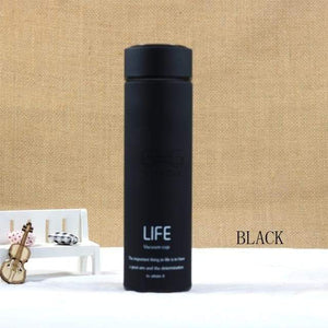 500ML High Quality Stainless Steel Thermal Mug Elite Fitness Essentials Black