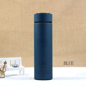 500ML High Quality Stainless Steel Thermal Mug Elite Fitness Essentials Dark Blue