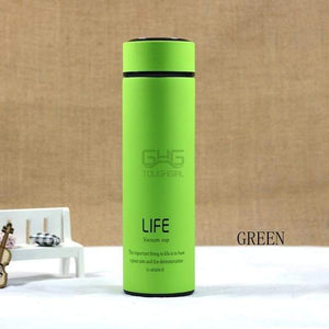 500ML High Quality Stainless Steel Thermal Mug Elite Fitness Essentials Green