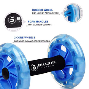 AB Roller Wheel with knee pad Elite Fitness Essentials