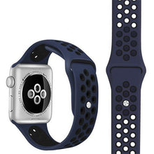 Load image into Gallery viewer, Apple Watch Replacement Band Breathable Silicone 38mm/40mm/42mm/44mm - Elite Fitness Essentials