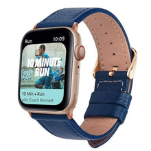 Load image into Gallery viewer, Apple Watch Replacement Band Leather 38mm/40mm/42mm/44mm - Elite Fitness Essentials