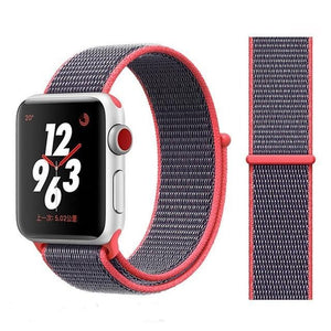 Apple Watch Band Nylon 38mm/40mm/42mm/44mm Elite Fitness Essentials