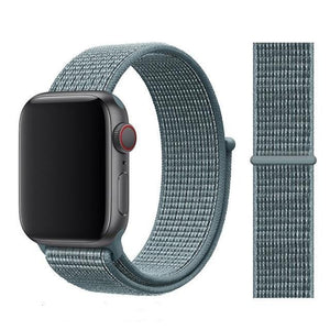 Apple Watch Band Nylon 38mm/40mm/42mm/44mm Elite Fitness Essentials China Celestial Teal 38mm or 40mm
