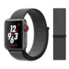 Load image into Gallery viewer, Apple Watch Band Nylon 38mm/40mm/42mm/44mm Elite Fitness Essentials China Deep olive 38mm or 40mm
