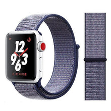 Load image into Gallery viewer, Apple Watch Band Nylon 38mm/40mm/42mm/44mm Elite Fitness Essentials China deeple blue 38mm or 40mm