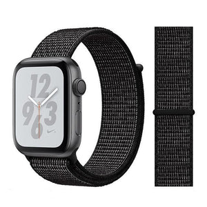 Apple Watch Band Nylon 38mm/40mm/42mm/44mm Elite Fitness Essentials China flash black 42mm or 44mm