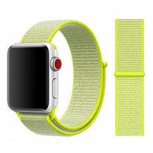 Load image into Gallery viewer, Apple Watch Band Nylon 38mm/40mm/42mm/44mm Elite Fitness Essentials China flash light 38mm or 40mm