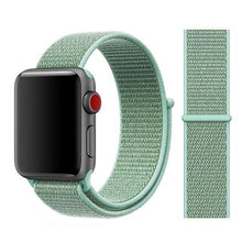 Load image into Gallery viewer, Apple Watch Band Nylon 38mm/40mm/42mm/44mm Elite Fitness Essentials China marine green 38mm or 40mm