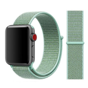 Apple Watch Band Nylon 38mm/40mm/42mm/44mm Elite Fitness Essentials China marine green 38mm or 40mm