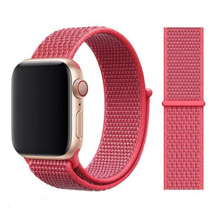 Apple Watch Band Nylon 38mm/40mm/42mm/44mm Elite Fitness Essentials China NEW Hibiscus 38mm or 40mm
