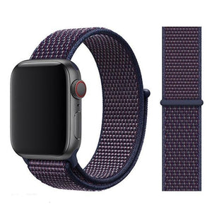 Apple Watch Band Nylon 38mm/40mm/42mm/44mm Elite Fitness Essentials China NEW Indigo 38mm or 40mm
