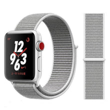 Load image into Gallery viewer, Apple Watch Band Nylon 38mm/40mm/42mm/44mm Elite Fitness Essentials China Pearl 38mm or 40mm