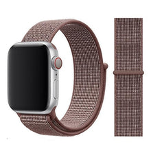 Load image into Gallery viewer, Apple Watch Band Nylon 38mm/40mm/42mm/44mm Elite Fitness Essentials China Smokey Mauve 38mm or 40mm