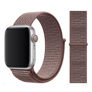 Apple Watch Band Nylon 38mm/40mm/42mm/44mm Elite Fitness Essentials China Smokey Mauve 38mm or 40mm