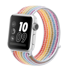 Apple Watch Band Nylon 38mm/40mm/42mm/44mm Elite Fitness Essentials China strip colorful 31 42mm or 44mm