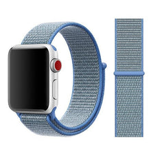 Load image into Gallery viewer, Apple Watch Band Nylon 38mm/40mm/42mm/44mm Elite Fitness Essentials China tahoe blue 38mm or 40mm