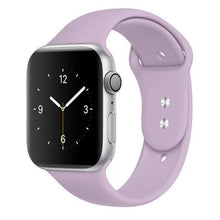 Load image into Gallery viewer, Apple Watch Band Silicone 38mm/40mm/42mm/44mm Elite Fitness Essentials 07 Light purple 42MM OR 44MM ML