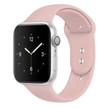 Load image into Gallery viewer, Apple Watch Band Silicone 38mm/40mm/42mm/44mm Elite Fitness Essentials 08 Pink 42MM OR 44MM ML