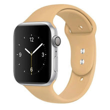 Load image into Gallery viewer, Apple Watch Band Silicone 38mm/40mm/42mm/44mm Elite Fitness Essentials 14 walnut 42MM OR 44MM ML